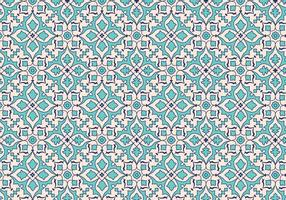 Fondo de patrón de la hoja del mosaico del vector
