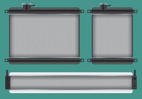 Auto radiator vectoren