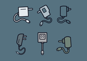 Gratis Phone Charger Vector