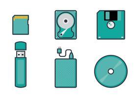 Vectores de almacenamiento digital