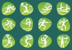 Pictogrammes olympiques vectoriels