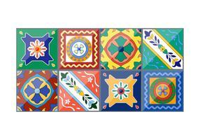 Vector hermoso cerámica española