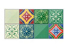 Emerald Vector Talavera Tiles