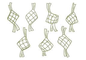 Ketupat Vektor