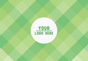 Free Green Squares Vector Background