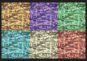 Colorful Multicam Pattern Vectors