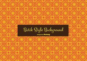 Batik estilo de vectores de fondo