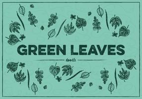 Free Green Leaves Vector