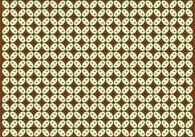 Vektor Batik Kawung Muster