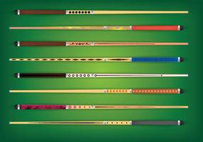 Pool Stick Vector