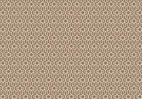 Outlined Arabic Pattern Background vector