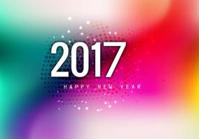 Beautiful Happy New Year 2017 Card