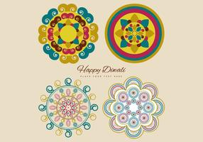 Collection Of Colorful Rangoli