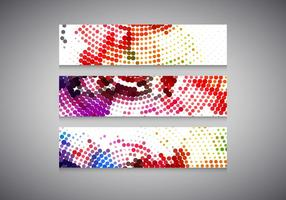 Colores Halftone Headers