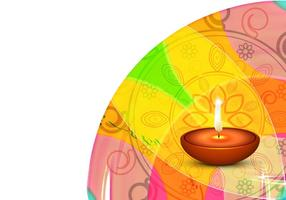 Decorative Diwali Festival Card