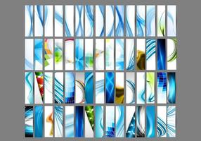 Set Of Various Header And Banner
