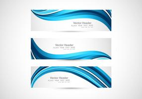 Blue Abstract Header