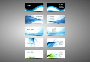 Set Of Visiting Business Cards