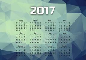 Year 2017 Calendar With Months
