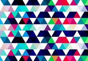 Colorful Triangular Background vector