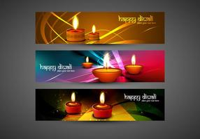 Set Of Happy Diwali Card