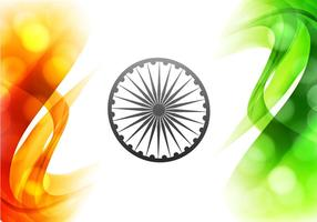 Illustration Of Beautiful Indian Flag