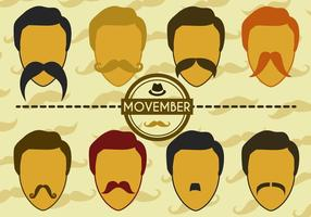 Vector Movember libre
