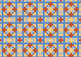 Squared Geometric Pattern Bakground