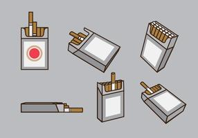 Cigarrillos Packs Vector
