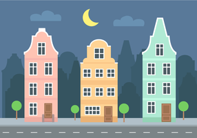 Vecteur de bâtiments gratuit