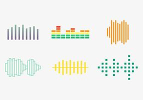 Free Sound Bars Vector #2
