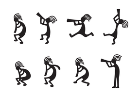 Free Kokopelli Vector