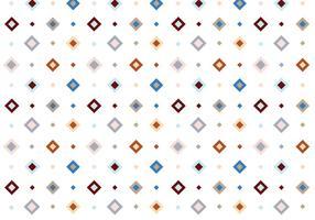 Pastell-Quadrat-Vektor-Muster