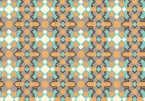 Geometric Pastel Pattern vector