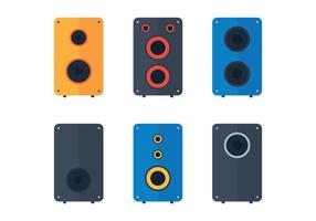 Lautsprecher-Vektor-Pack