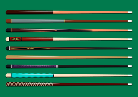 Free Pool Stick Vector