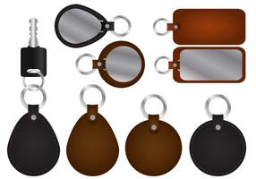 Key Holder With Leather Vectors