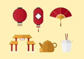 Vector china ciudad