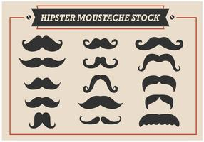 Hipster Moustache vectores de stock