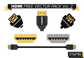 Hdmi fri vektor pack vol. 2
