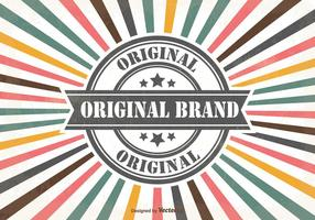 Promotional Sales Retro Background vector