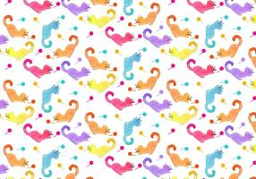 Vector Cat Animal Pattern