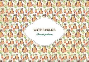 Acquerello Vector Pattern gratuito