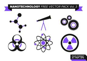 Nanotechnology Free Vector Pack Vol. 3