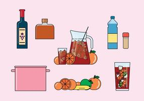 Sangria Illustrationen