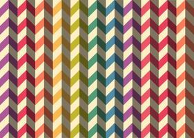 Modèle de vecteur de chevrons coloré