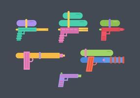Water Guns Vector Pack