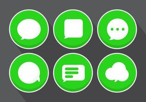 Vector Message Icons