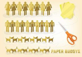 Free Paper Elements Vector