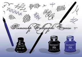 Free Vector Calligraphy